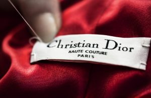 Christian Dior product tag